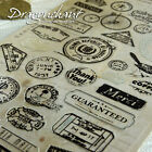 Novelty Vintage Style Postmark Stamp Sticker Stocking Filler Card Scrapbooking