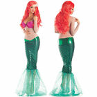 Sexy Womens Fairytale Fantasy Little Mermaid Princess Outfit Halloween Costume