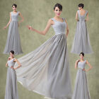 Godness Bridesmaid Ball Gown Formal Prom Cocktail Evening Party Wedding Dresses