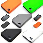 For Apple iPhone 4S 4 Fusion High Hybrid Case Hard Rubberized Silicone Cover