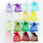 Christmas Organza Pouch Bag Drawstring Tie Wedding Favour Gift 16 colors