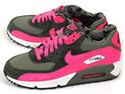 Nike Air Max 90 2007 (GS) Iron Green/Hyper Pink-White Youth Running 345017-300