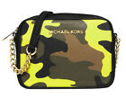 MICHAEL MICHAEL KORS JET SET TRAVEL ACID LEMON Crossbody Bag