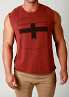 Mens St. Goliath BLOCK Muscle Tank Casual Design Style Urban Retro Swag Singlet