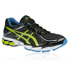 Asics GT-1000 2 Mens Black Yellow Support Road Running Sports Shoes Trainers