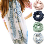 UK Fashion Womens National Style Vintage Long Chiffon Scarf Shawl Wrap Scarves