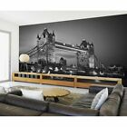 1Wall Giant Wall Mural - London/New York Cityscape - Giant Photo Print Home Gift