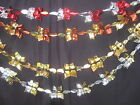 3m garland xmas Foil Ceiling hanging decoration red silver bronze gold black 705