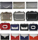 Ladies Designer Fashion Evening Clutch Night Out Pram Ball Wedding Party Bag Gif
