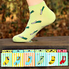Good-looking Womens Summer Designer Socks Cotton Rich Lycra Design Socks UK EW