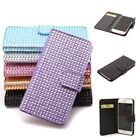 For 4.7'' iPhone 6 LUXURY SLIM WALLET Bling Rhinestone Flip Case Cover New