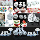NEW 28pcs fondant cake decorating icing sugarcraft plunger cutters tools moulds