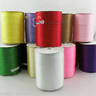 900yds 3mm Double Sided Satin Ribbons Sewing Trims Crafts Various Colors