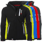 Geographical Norway Trimaran Softshell Jacke Outdoor Übergangsjacke