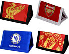 Premier League Football: Tri Fold Wallet & Coin Pocket Chelsea Arsenal Liverpool