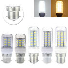 B22 5W/6W/8W/10W/12W LED 5730 SMD Corn Light Lamp Bulb Pure/Warm White 220-240V