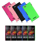 High Quality Hard PC Back Cover Skin Protector Case Cover For Sony Xperia M C190