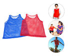 Внешний вид - Pinnies Youth Practice Team Jerseys Mesh Scrimmage Training Vest Red Blue Lot
