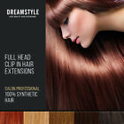 Full Head Clip In Hair Extensions All Colours.Extra Silky and Soft
