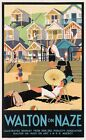 Vintage LNER Walton On The Naze Railway Poster  A3 Print