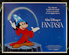 Vintage Fantasia Disney Movie Poster  A3 Print