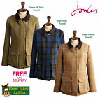 Joules Womens Semi-fitted Tweed Fieldcoat (R) **BNWT** **FREE UK SHIPPING**