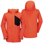VOLCOM Mens 2015 Snowboard Snow Orange STONE BLOCK JACKET