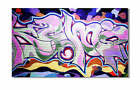 KUNST BILD pop art GRAFFITI LEINWAND BILDER GEMÄLDE new york london 3904x