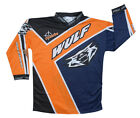 Wulfsport Childrens Kids Crossfire 2015 Motocross Enduro Quad Race Jersey
