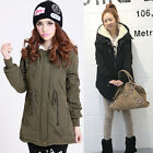 Women Winter Warm Fleece Coat Cotton Parka Outerwear Jackets Topcoat Overcoat ZT