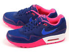 Nike Wmns Air Max 1 Deep Royal Blue/Cobalt-Pink NSW Sports Running 319986-403