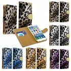 Leopard Bling Wallet Flip Credit Card Holder Leather Case Cover For iPhone 6 4.7