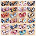New Woolen Leather Prewalker Baby Infant Boy Girl Soft Sole Crib Shoes Size2345