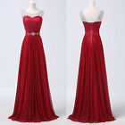 Graduation Quinceanera Red Homecoming Bridesmaid Evening Prom Party Long Dress