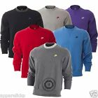 Nike Mens Crew Neck Fleece Lined Top Sweatshirt Sweater Jumper New 406278