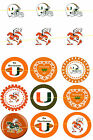 Miami Hurricanes - One-Inch Bottle Cap Images