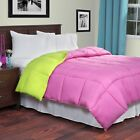 Lavish Home Reversible Down Alternative Comforter King Size Choice of Colors