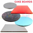 Single Cake Boards Round or Square Thick Drum Board 12mm Strong Support