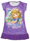 Disney Princess Sofia the First Enfant Filles Jupe Pyjama Robe Gown 3-10T Violet