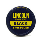 Lincoln Stain Wax Shoe Polish 3 oz - Black, Brown, Neutral - 11 COLORS