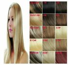 USA STOCK 16-22'' Length Straight Remy Clip In Human Hair Extensions,Any Color