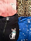 Nick&Nora Onesie Pajama:Star Jungle Cat Dog Monkey M Lg XL XXL One Piece Fleece
