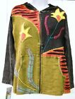 RISING INTERNATIONAL - NEPAL Women's Cotton HIPPIE HOODIE JACKET FAIR TRADE