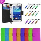 Protective PU Leather Flip Wallet case Cards for Samsung Galaxy S4 Mini I9190