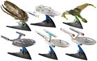 STAR TREK Hot Wheels 20 Metal Space Ships Selection TOS TNG Complete Series RARE
