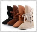 HOT Size US 5-10,4 Color Women Winter Warm Lace Up Snow Boots Shoes,Free Shiping