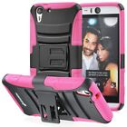 Внешний вид - For HTC Desire Eye Rugged Armor Hybrid Dual Layer TPU + PC Kick Stand Case Cover