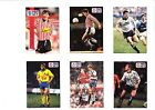 Pro Set cards signed Beesley, Hoyland, Johnson, Meyer, McDonald, Van Der Laan