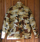 M-65 M65 Desert Storm Camo Camouflage Military Field Jacket Coat Removable Liner