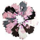 Breast Cancer Awareness Ladies Texting Gloves
